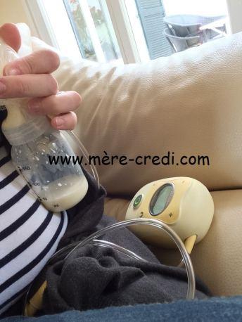 allaitement et travail tire lait électrique Freestyle Medela. allaitement et reprise du travail. Lait maternel