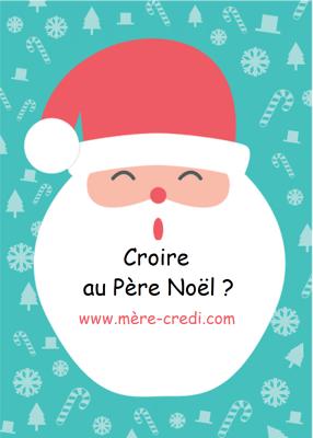 Croire au Père Noël?