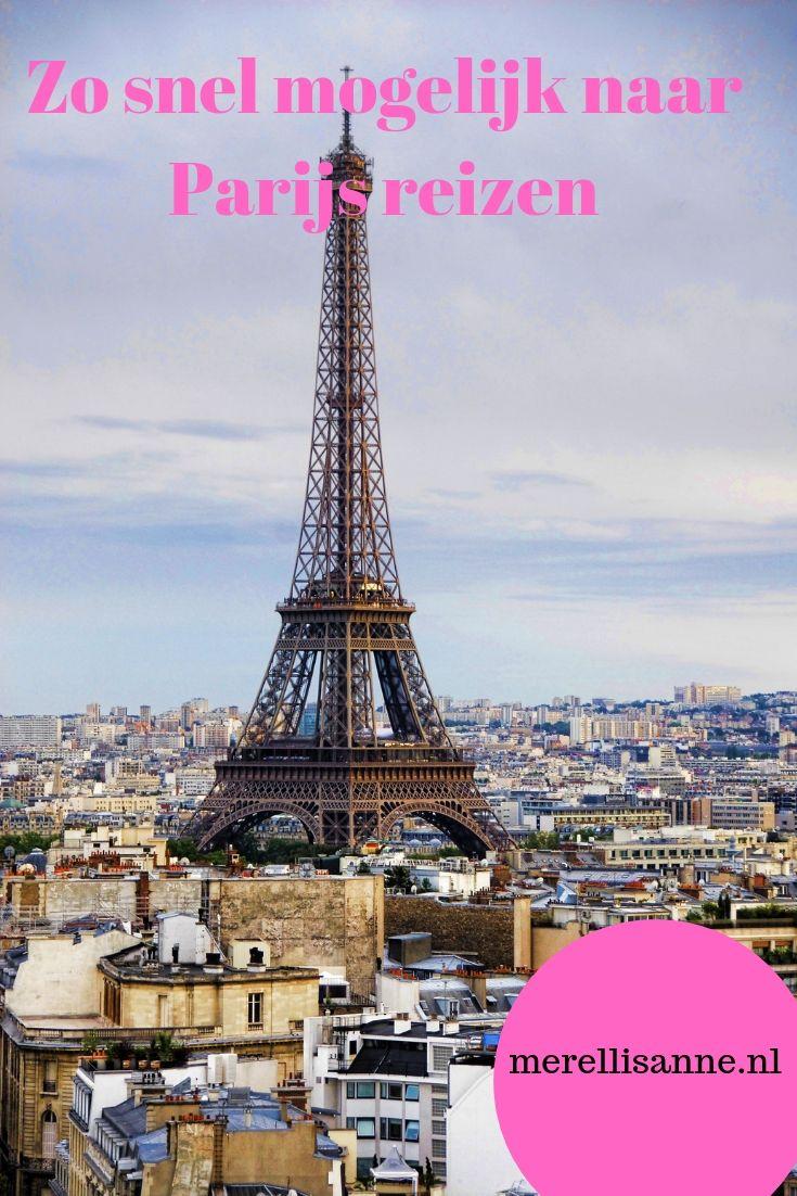Snel reizen naar Parijs