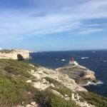 Uitzicht op Bonifacio