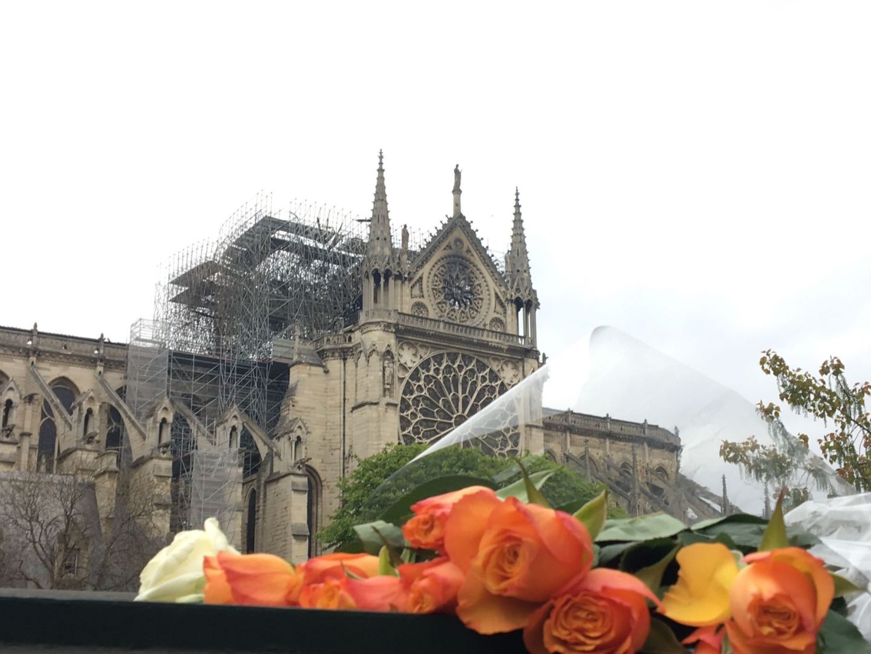 Notre Dame na de brand