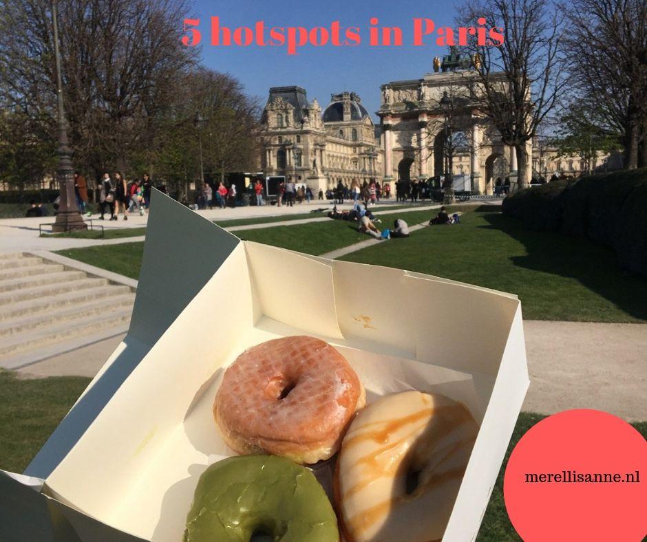 Hotspots in Paris