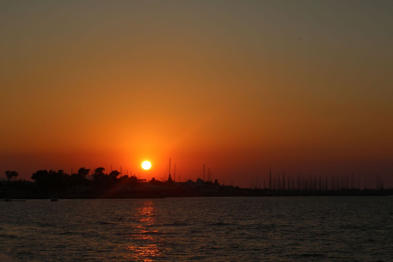 Sunset Greece