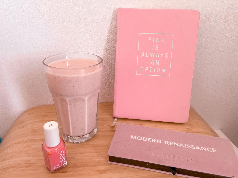 Recept: aardbeien-banaan smoothie