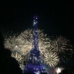 vuurwerk Eiffeltoren