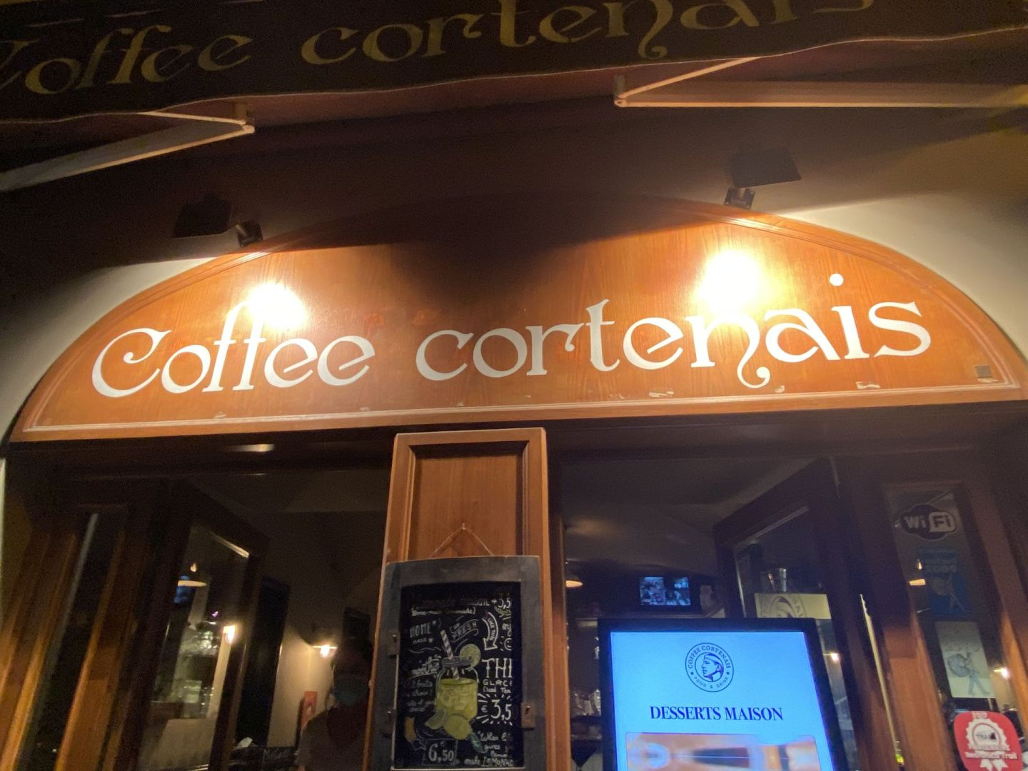 Coffee cortenais