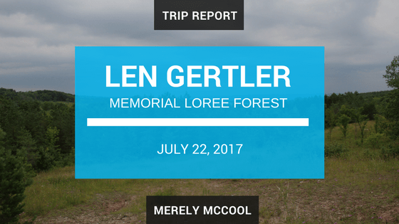 Len Gertler Memorial Loree Forest