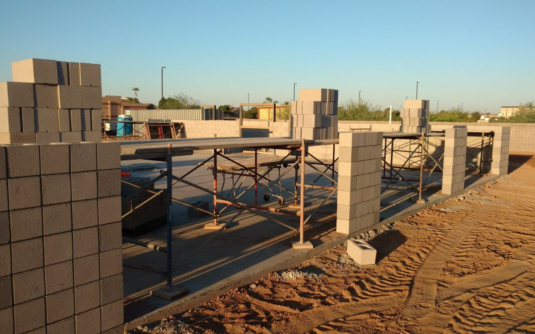 Highline Autoshop starts construction