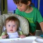 silent sunday: sibling joy