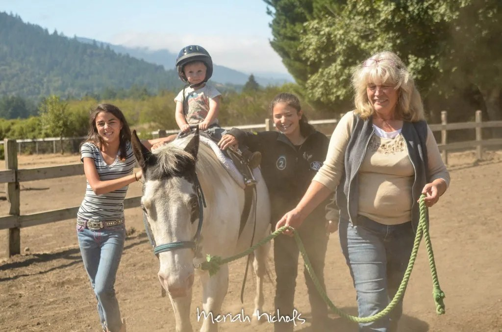 meriah nichols horse therapy september 2014 (1 of 1)