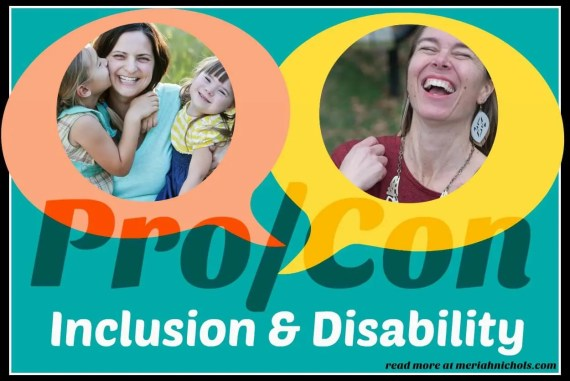 The Pro/Con of Disability Inclusion in School