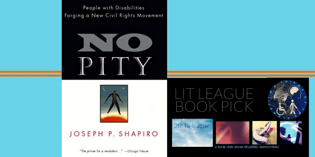 """Lit league book pick for october and november is """"No Pity"""" by Joseph Shapiro"""