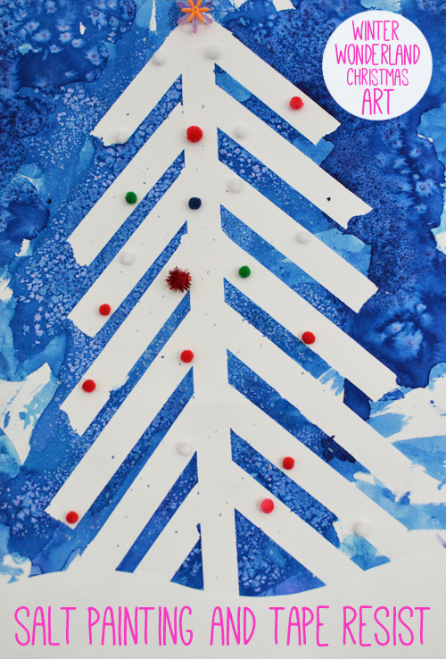 Winter Wonderland Art Toddlers
