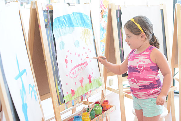 Check out open studio at this amazing art studio for kids!