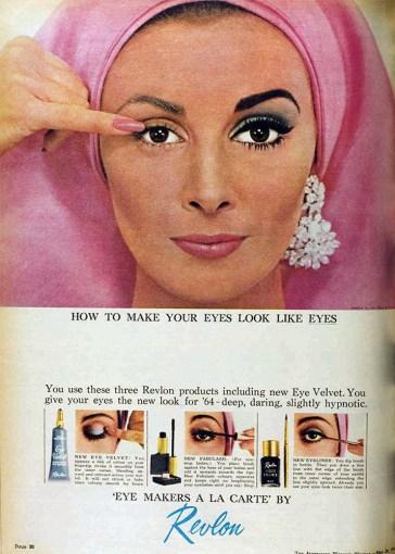 Augen wie Augen aussehen lassen