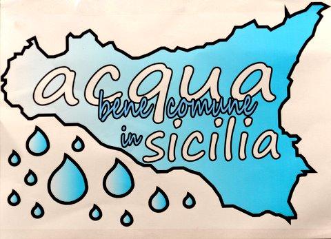 acqua bene comune anche in Sicilia