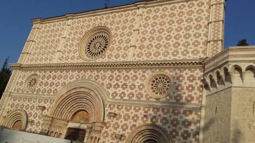 Aquila - basilica di santa maria di collemaggio