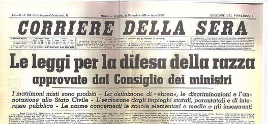 Vittorio Emanuele III - Corriere della sera 1938