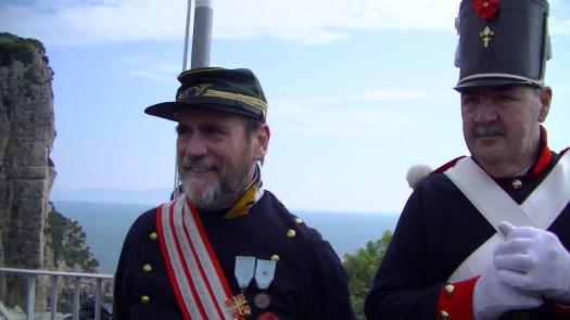Gaeta - il Capitano Alessandro Romano