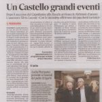 Corriere Adriatico Castello Grandi eventi
