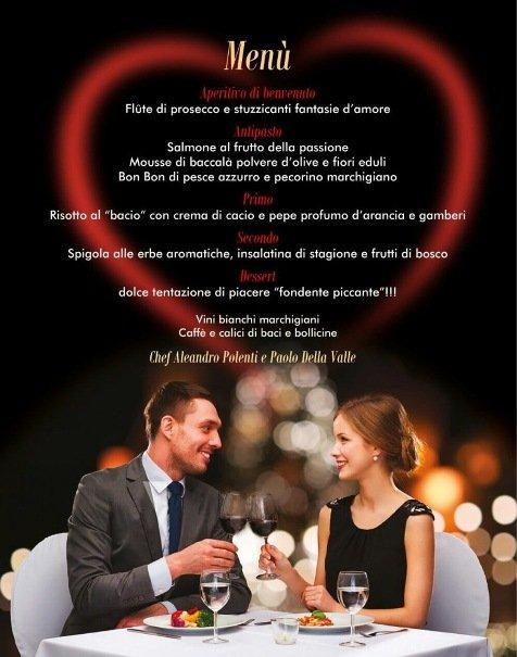 Alchimie D'Amore, Cena Romantica Con Menù A Base Di Pesce