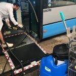 Pulizia Autobus Azienda Pluriservizi Macerata