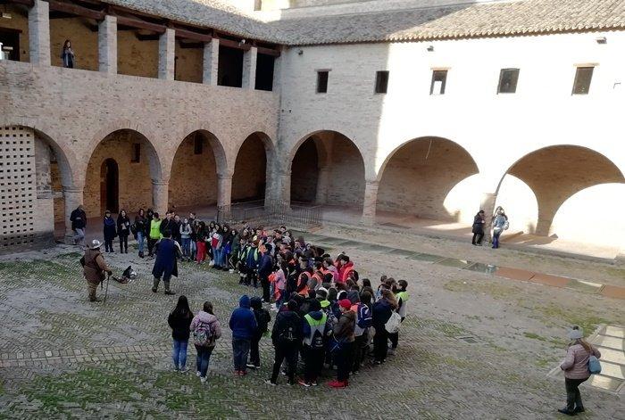 Visita Castello Istituto Denza Napoli