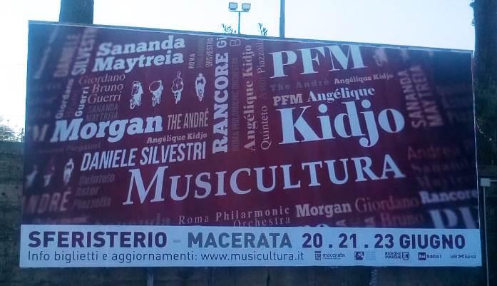 Musicultura 2019 Affissioni Meridiana