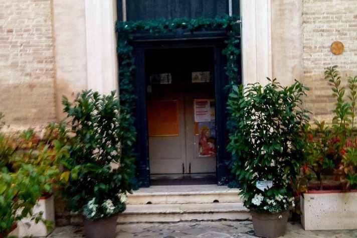 Giornata Della Vita Consacrata, Allestimento Serre Alla Chiesa Di San Giorgio Macerata