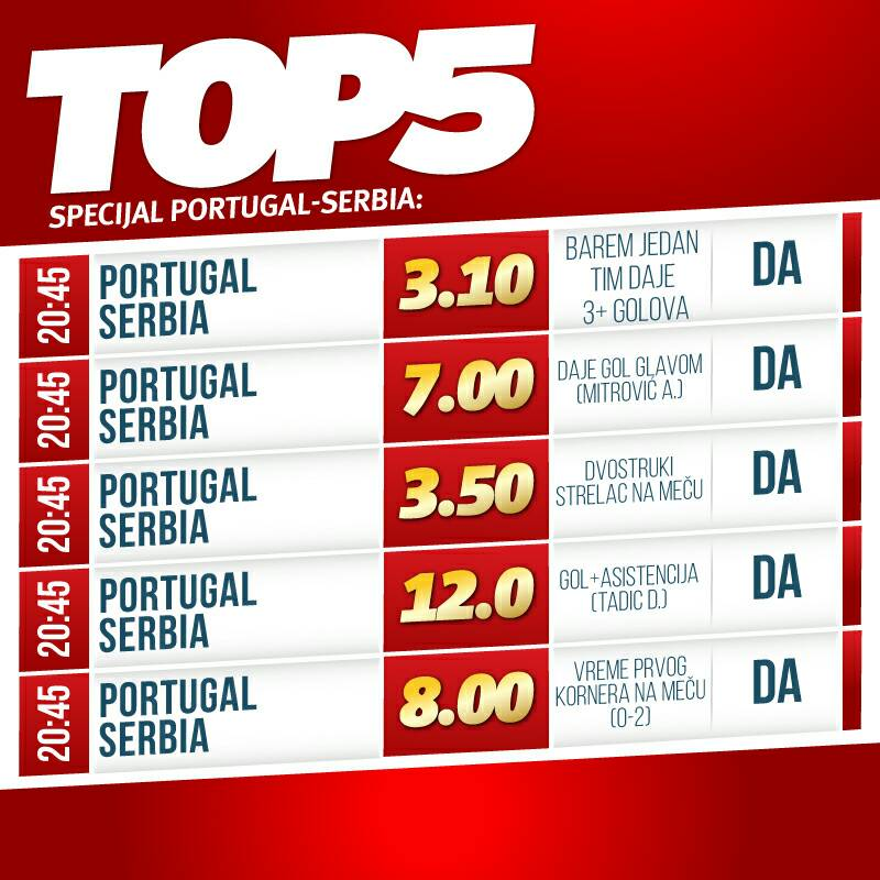 Mitrović pogađa glavom u Lisabonu, Tadić beleži i gol i asistenciju!