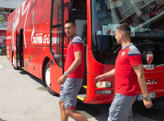 KRENULA ZVEZDA: Crveno-beli počeli pripreme za novu sezonu