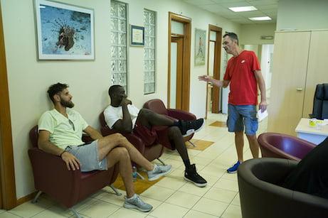 ZVEZDA ZAPOČELA PRIPREME Crveno-beli košarkaši se vraćaju u pogon