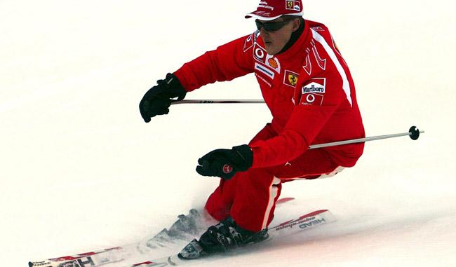Michael Schumacher se encuentra en estado crítico según información del hospital de Grenoble / Fo