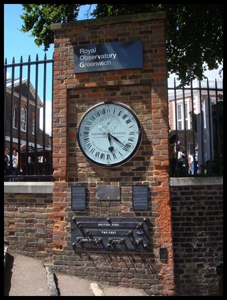 Reloj de Greenwich, Londres