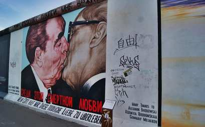 Brotherhood Kiss, berlín