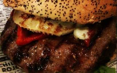 hamburguesa Burgos, el Kiosko