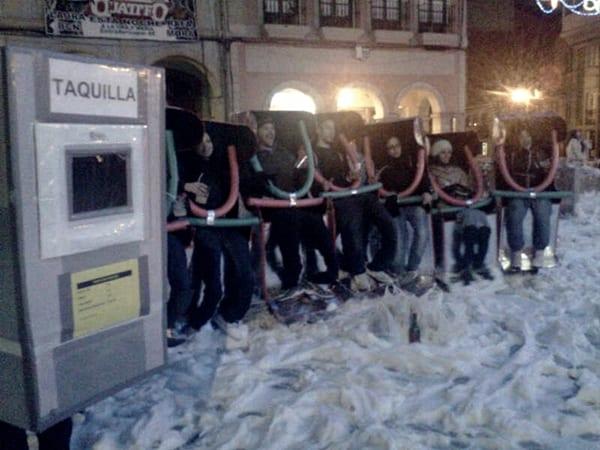Descenso de Galiana, Carnaval de Avilés