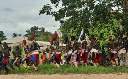 lucha senegalesa