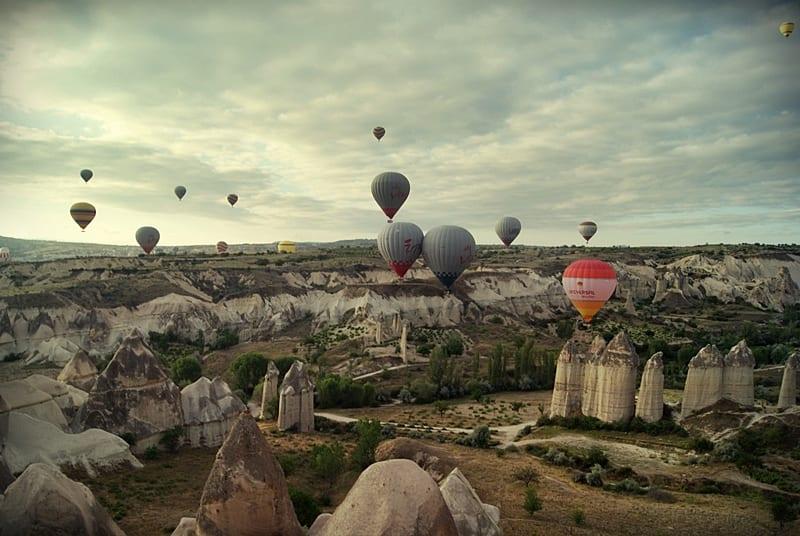 Globo por la Capadocia, Turquía