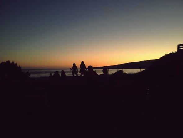 Puesta de sol Valdevaqueros