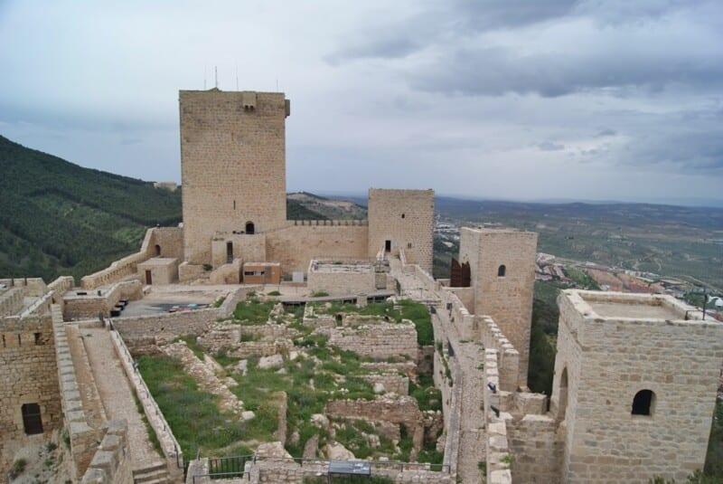 Castillos de Santa Catalina, Jaén