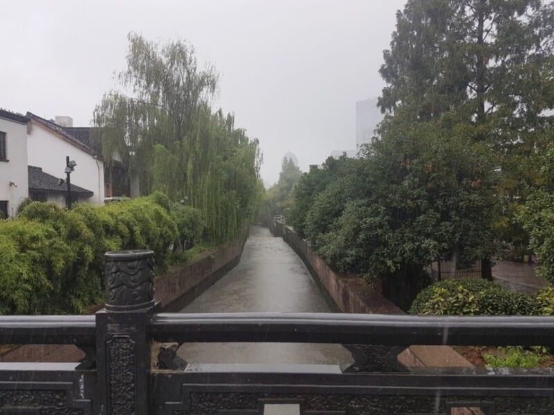 Uno de los canales de la ciudad