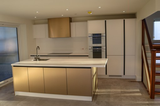 Bronzed and Beautiful Bespoke Kitchens in Poole