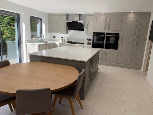 Shaker Kitchen in Ferndown-Deseo In-frame