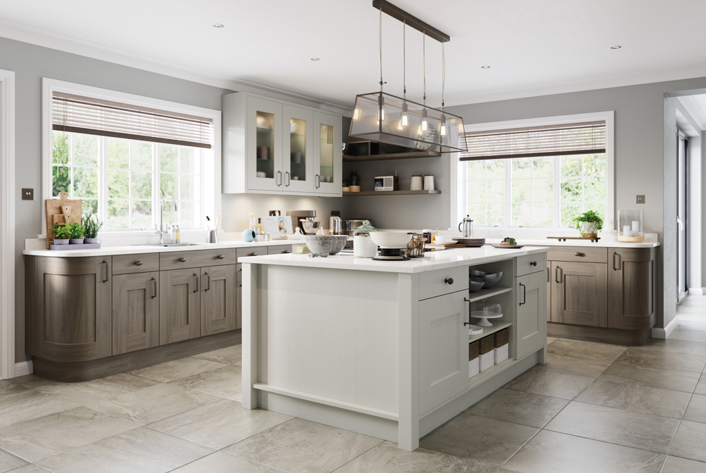 Broadoak shakeer fitted kitchen one of the most popular kitchens by Second Nature.