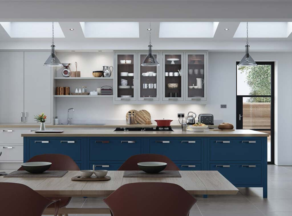 Aisling Kitchen - Aurora - Meridien Interiors - Fitted Kitchen Dorset