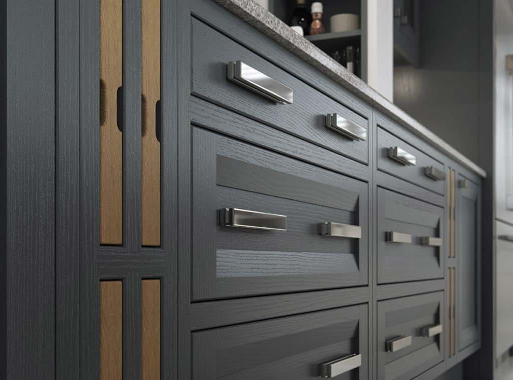 Aisling Contemporary Kitchen Montreal Meridien Interiors Dorset