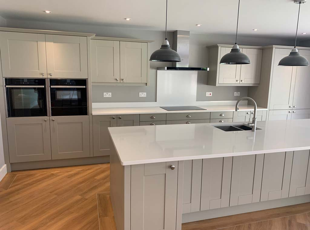 new build fitted kitchen ringwood