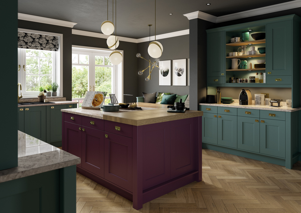 kitchens poole traditional | Meridien Interiors | Fitted Kitchens Dorset