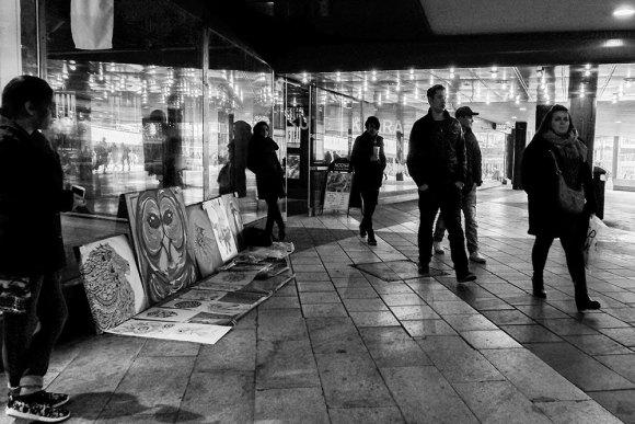 Gatuförsäljning-Sergels-torg